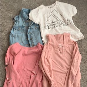 Other - Lot of trendy girls clothes XL